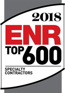 2018 ENR Top 600 Specialty Contractors